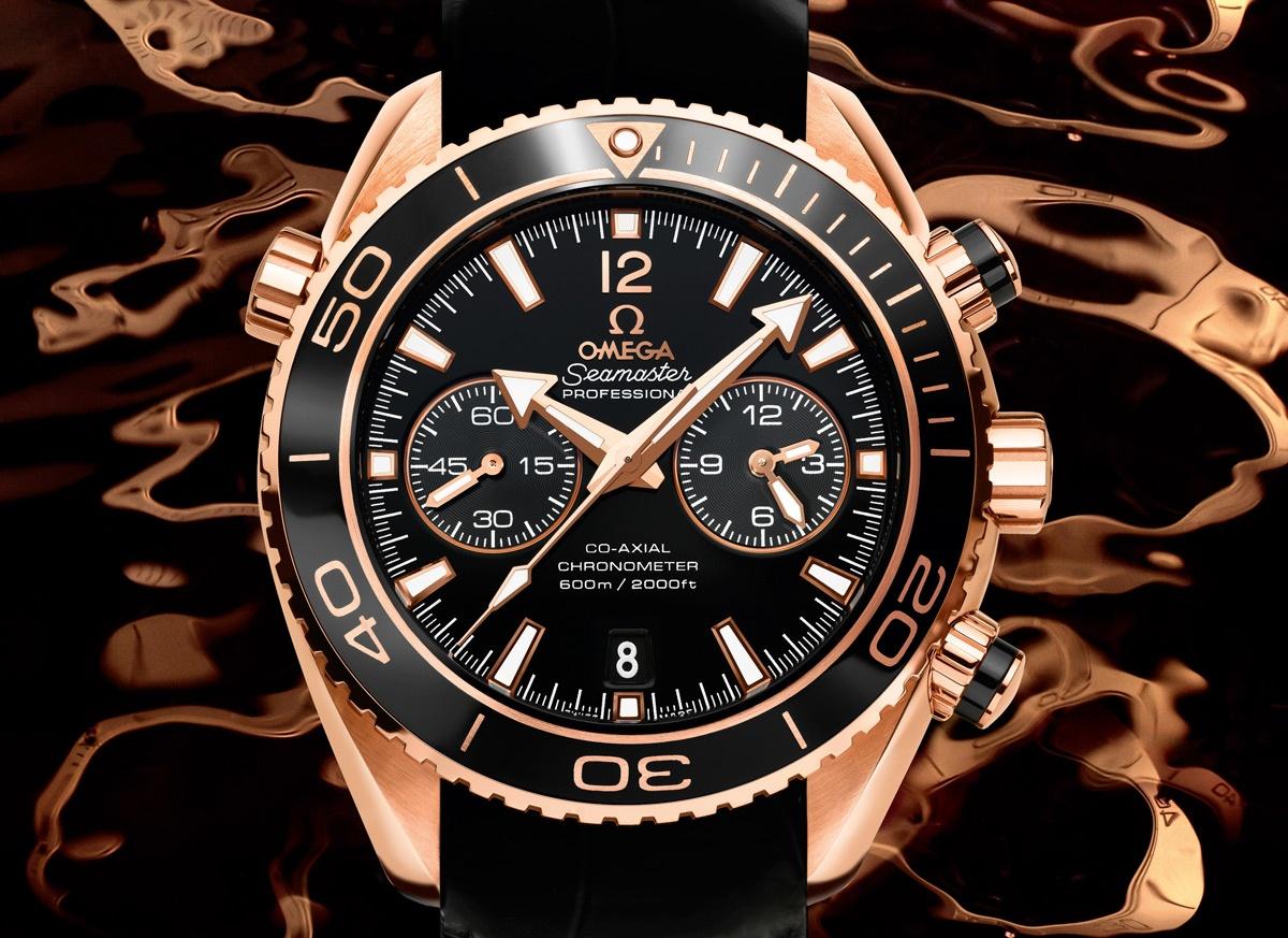 OMEGA Seamaster Planet Ocean CERAGOLD 45.5mm