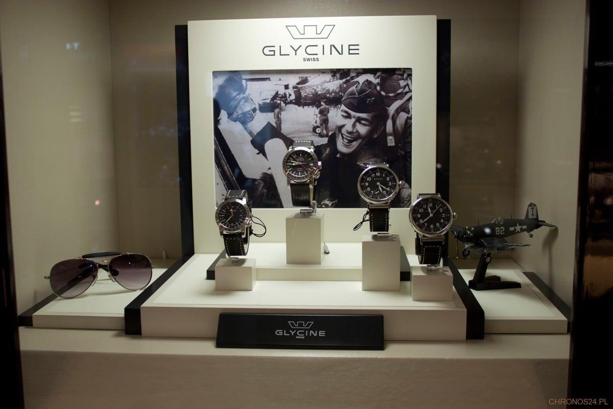 Wystawa zegarków Glycine