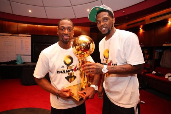 Dwyane Wade, Udonis Haslem i puchar NBA