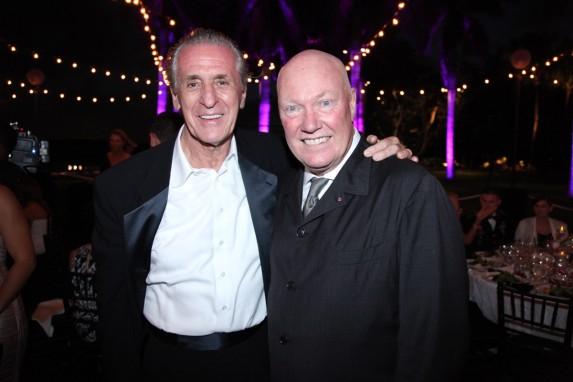 Pat RIley i Jean-Claude Biver