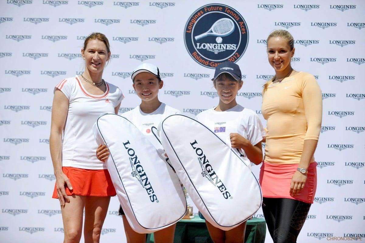 Finalistki - Longines Future Tennis Aces Tournament Roland Garros 2012