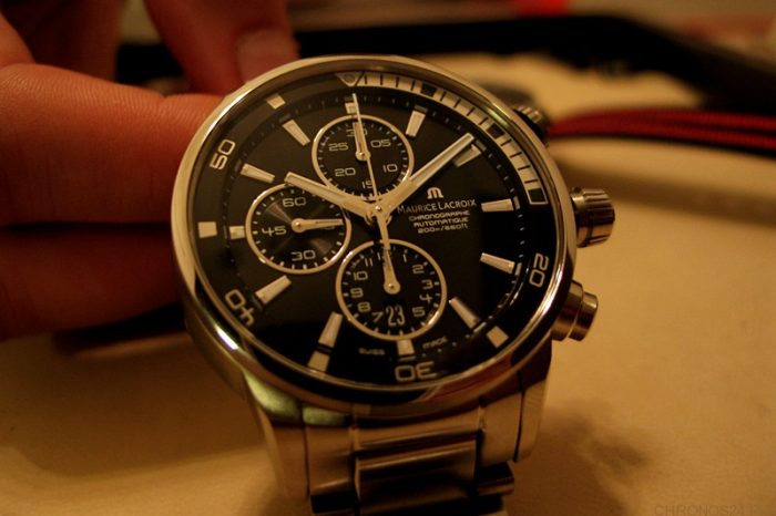 """""""Hands-On"""" Maurice Lacroix Pontos S"""