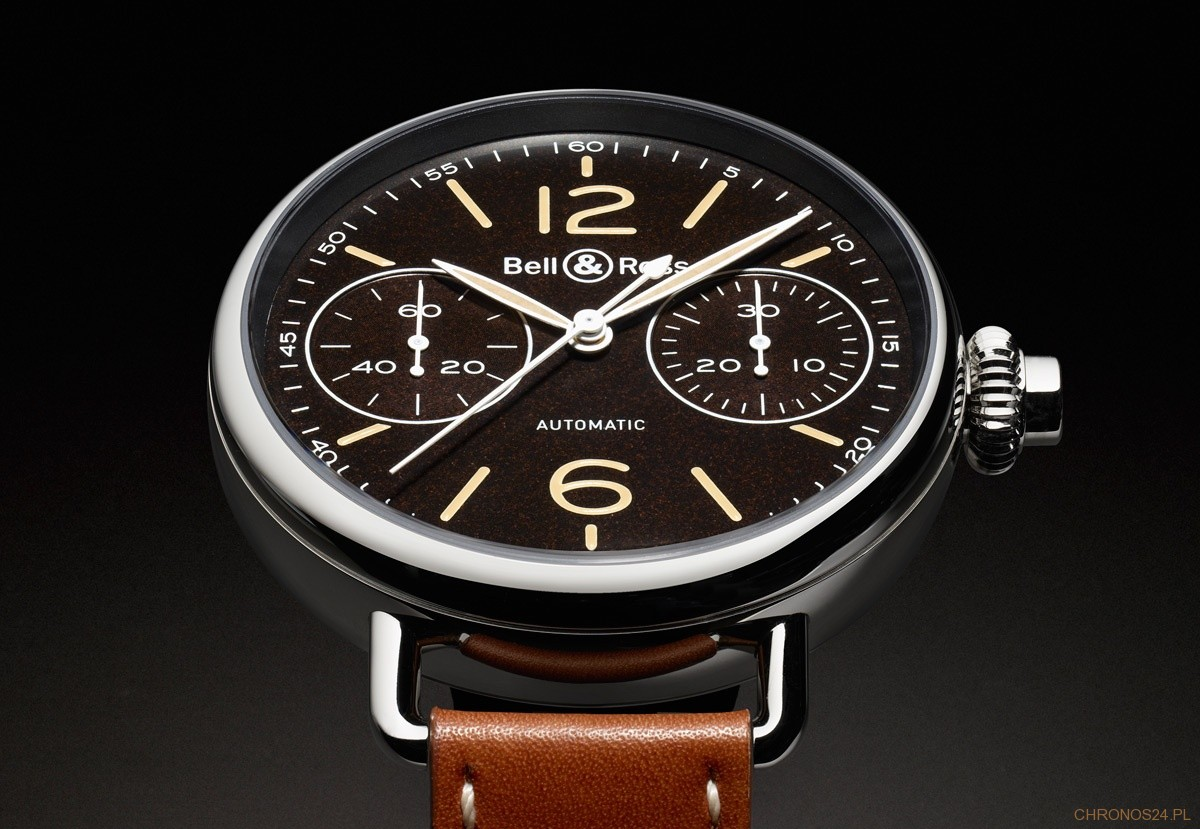 Bell & Ross WW1 MonoPoussoir Heritage