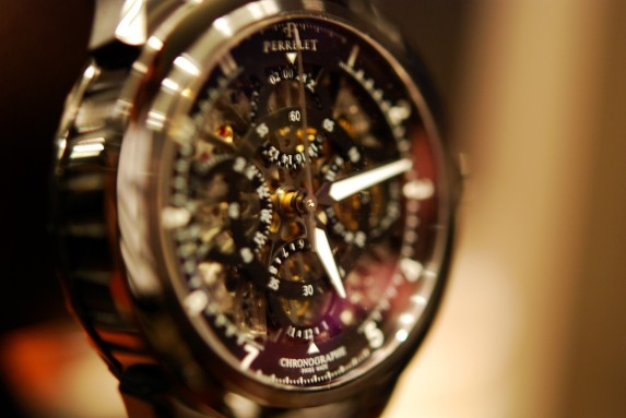 szkieletowany Skeleton Chronograph