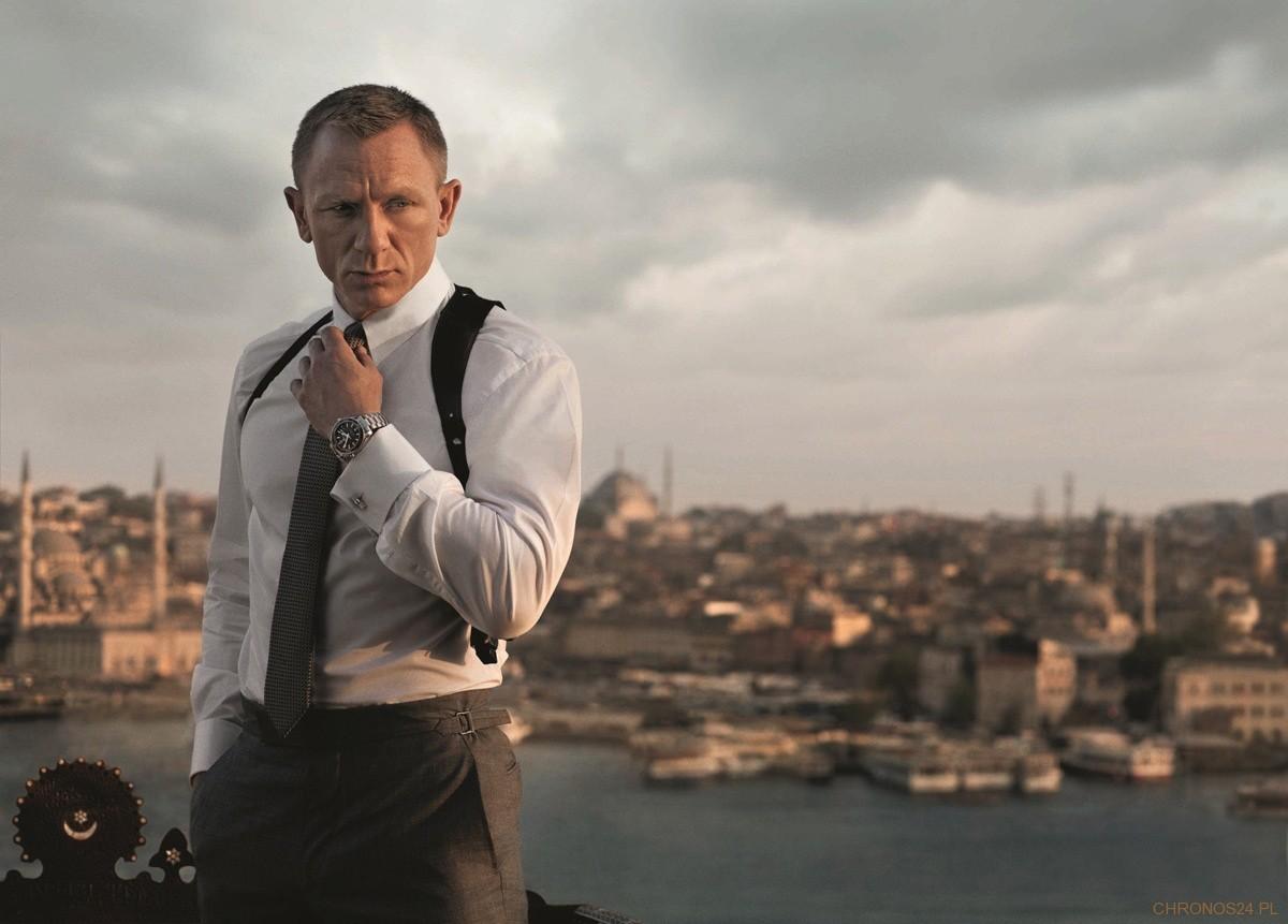 Daniel Craig i jego Omega