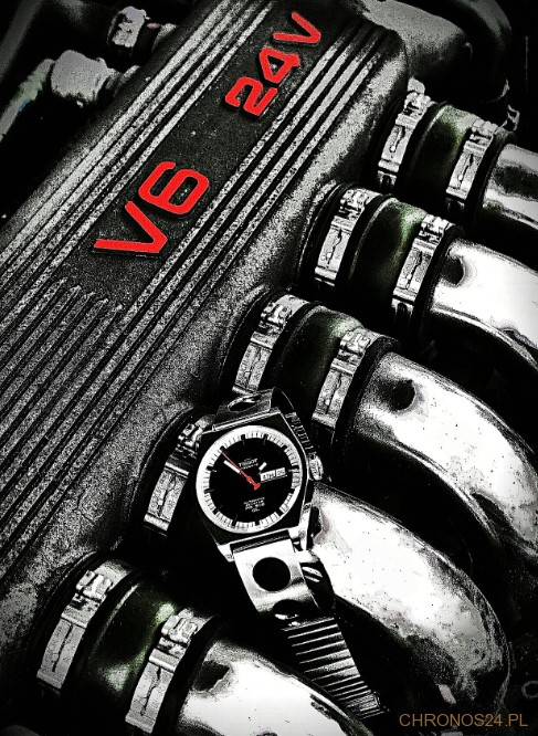konkursowe zdjęcie Michała Jośko - Tissot Heritage i Alfa Romeo