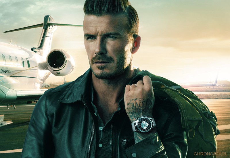 David Beckham i BREITLING