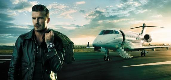 David Beckham i Transocean Unitime