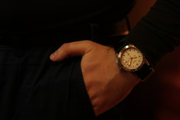 Airman Vintage na ręce