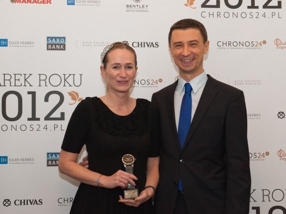 Magdalena Polańska (Swatch Group Polska) i Tomasz Kiełtyka