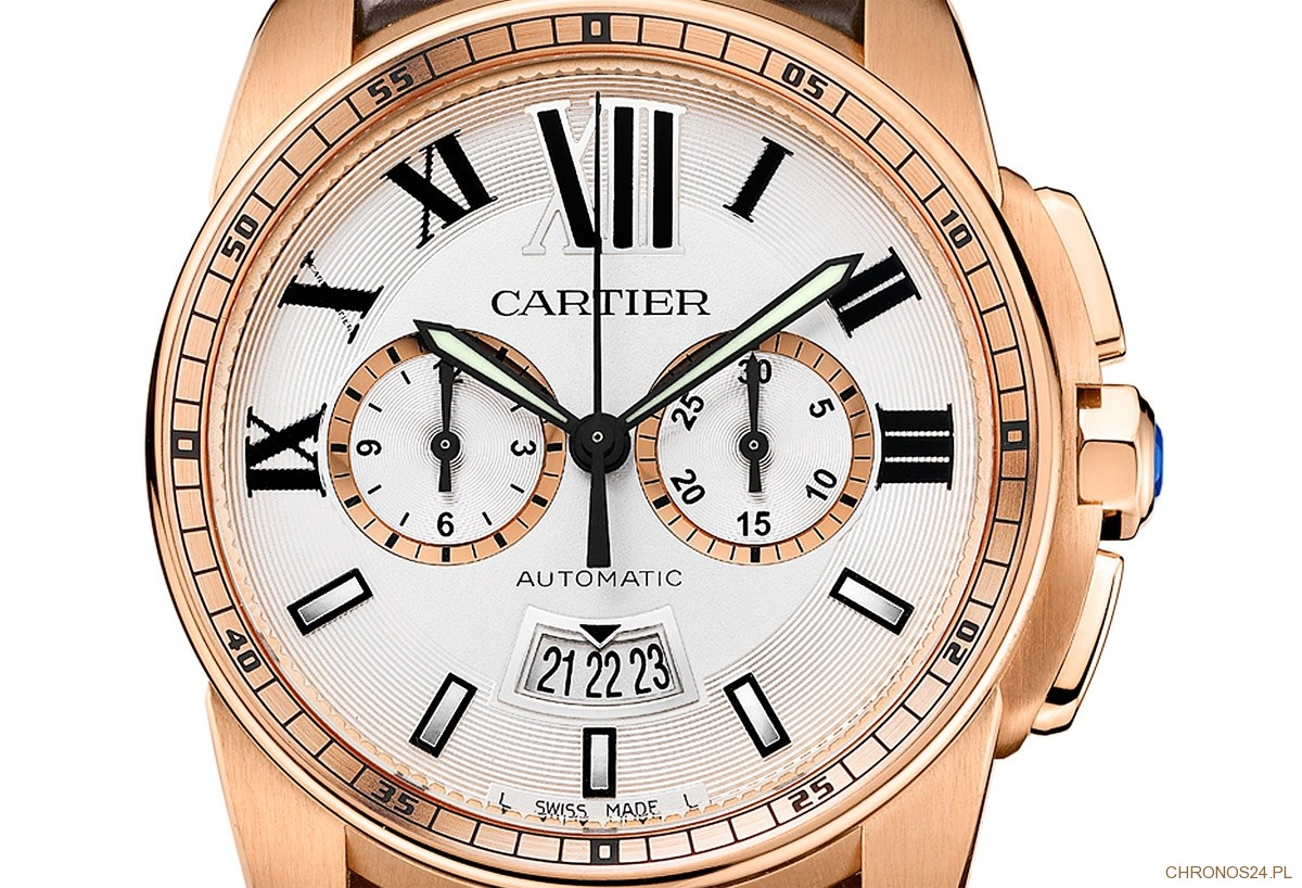 Cartier - Calibre de Cartier Chronograph