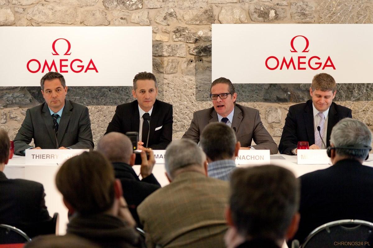 Konferencja marki OMEGA