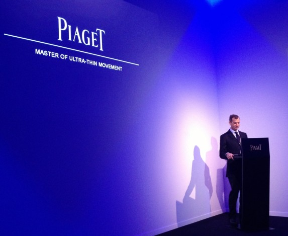 Philippe Léopold-Metzger - CEO marki Piaget