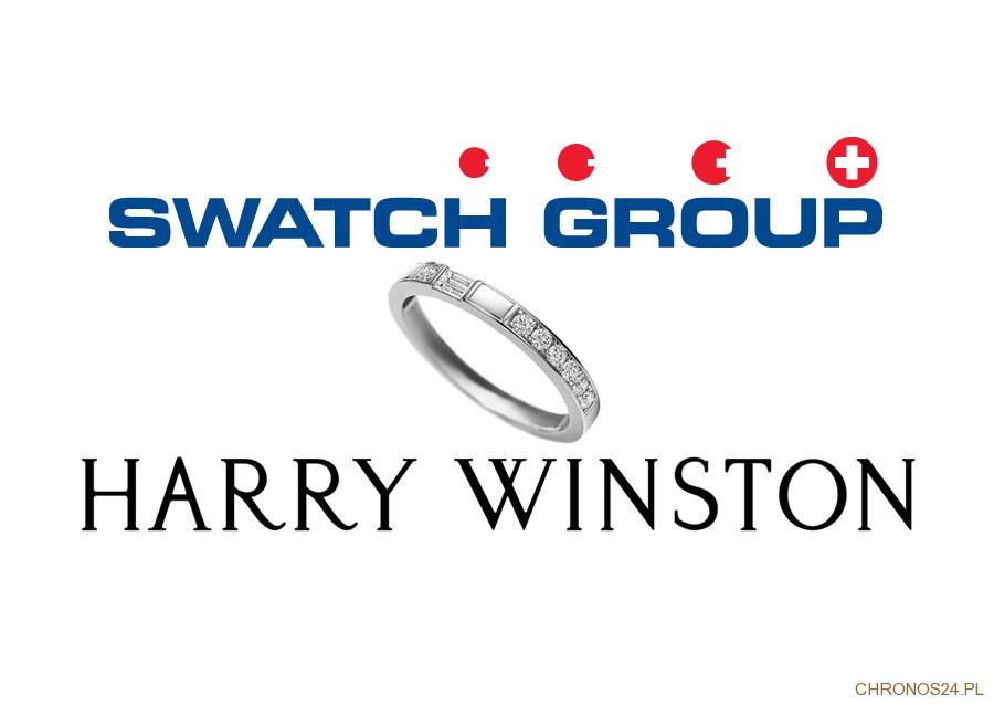 Swatch Group przejmuje markę Harry Winston