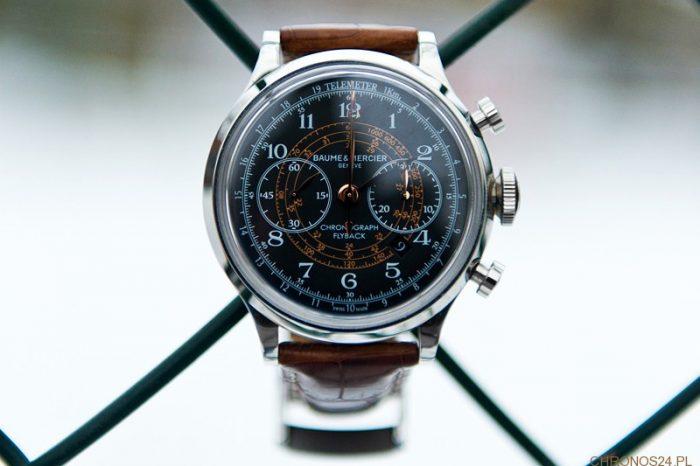 Recenzja Baume&Mercier Capeland Chronograph Flyback