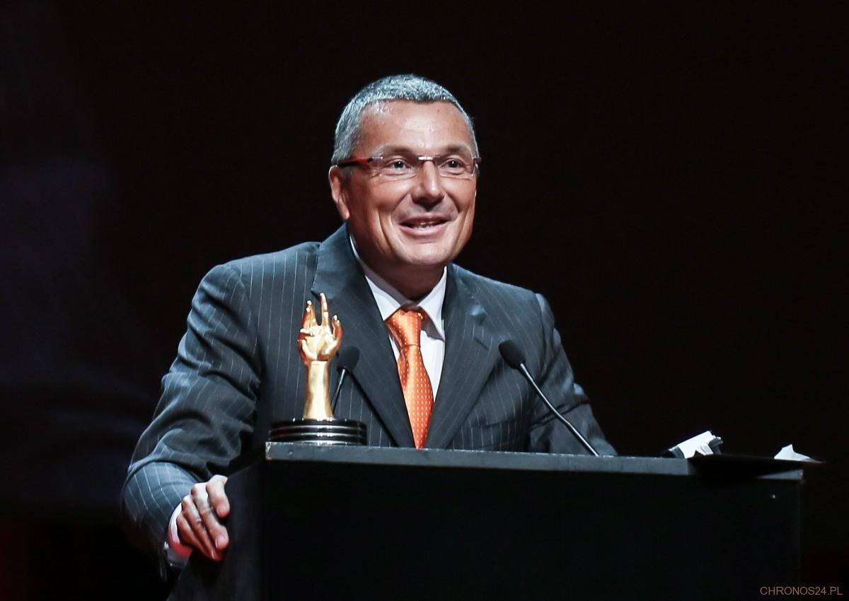 Jean-Christophe Babin w trakcie rozdania nagród GPHG 2012