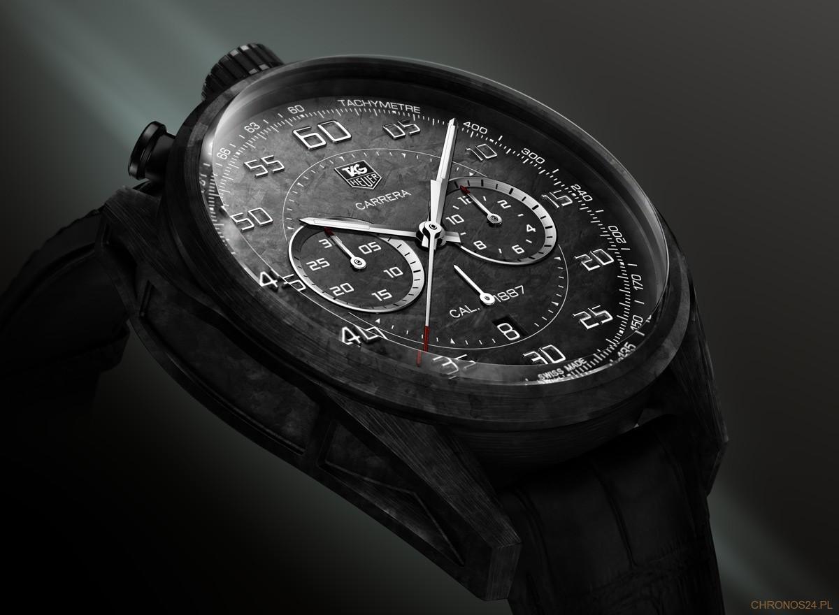 TAG Heuer - Carrera Carbon 1887 Concept Chronograph