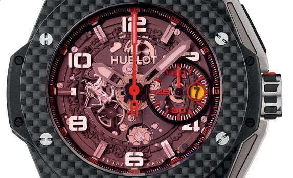 Big Bang Ferrari Red Magic Carbon