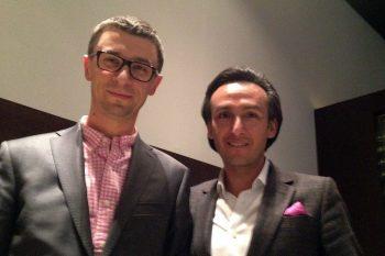 Od prawej: Octavio Garcia (Audemars Piguet) i Tomasz Kiełtyka (CH24.PL)