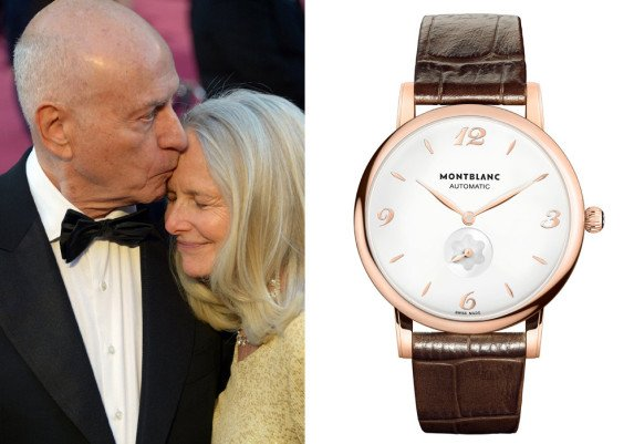 Alan Arkin (foto: Getty Images / JOE KLAMAR – © 2013 AFP) / Montblanc Star Classique Automatic