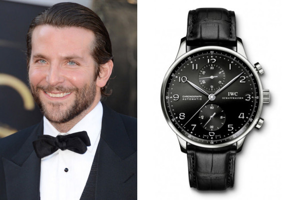 Bradley Cooper (foto: Getty Images) / IWC Portuguese