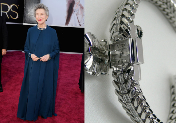 Emmanuelle Riva (foto: Getty Images) / Jaeger-LeCoultre Duoplan Joaillerie