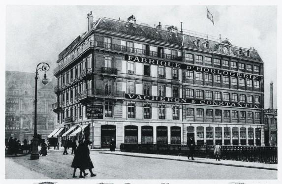Budynek Maison dawniej...