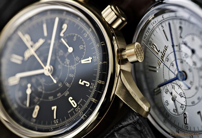 Basel 2013: Alpina 130 Heritage Pilot Chronograph