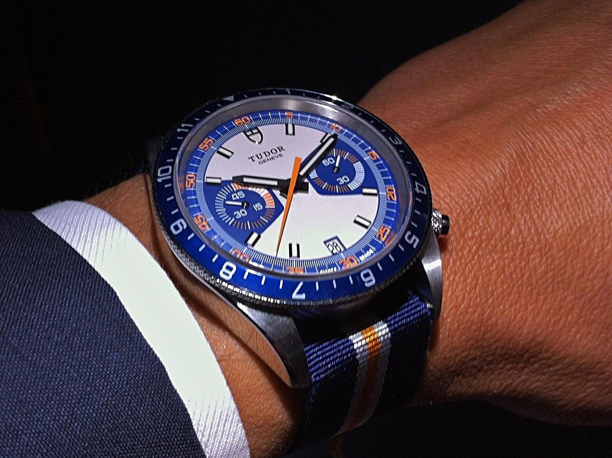 Heritage Chronograph Blue