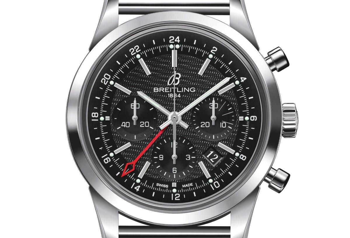 Breitling Transocean Chronograph GMT