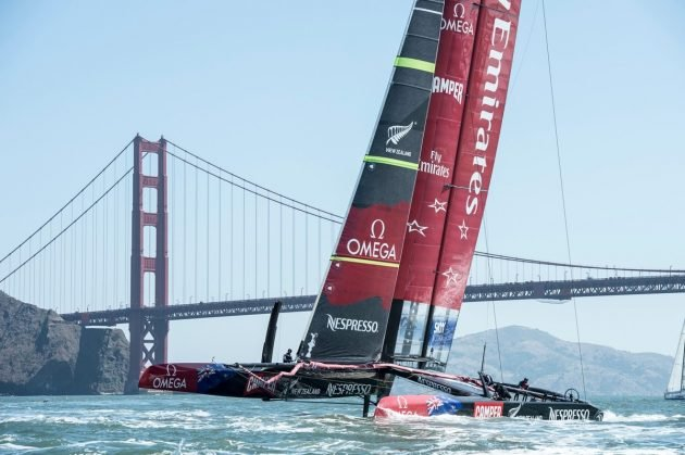 Emirates Team New Zeland / foto: Chris Cameron