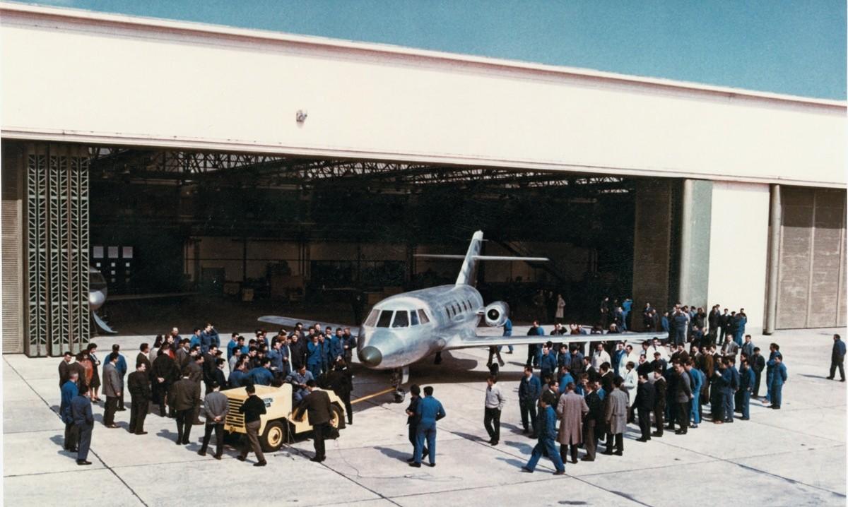 Prototyp Falcon 20 © Dasault Aviation
