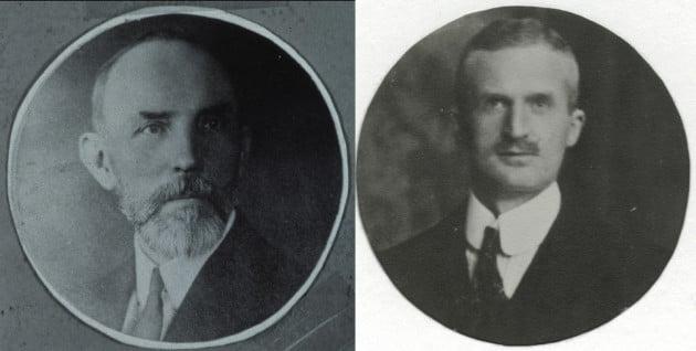 August Eberstein i Alfred Nehemias