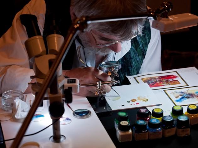 ręczne malowanie tarczy - Chronos-Art