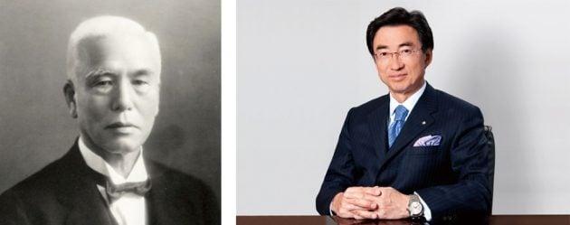 Kintaro Hattori (po lewej) i Shinji Hattori
