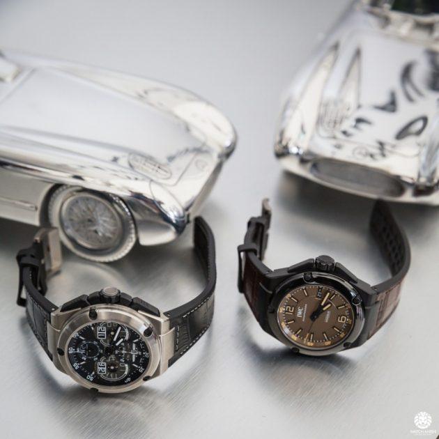Ingenieur Perpetual Calendar and AMG Black Series Ceramic / foto:Watch-anish