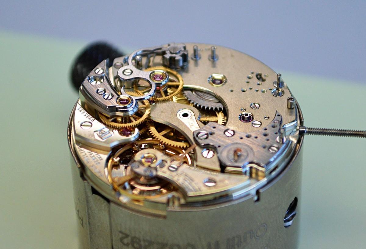 kaliber Ref.5950 przed wykończeniem