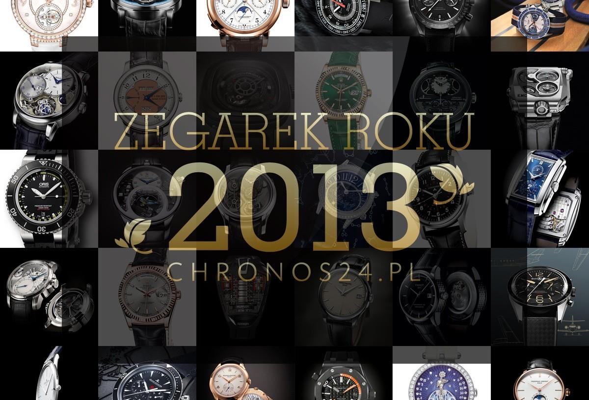 ZEGAREK ROKU 2013