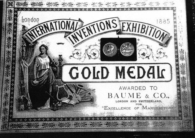 Złoty medal na międzynarodowej wystawie w Londynie (1895)