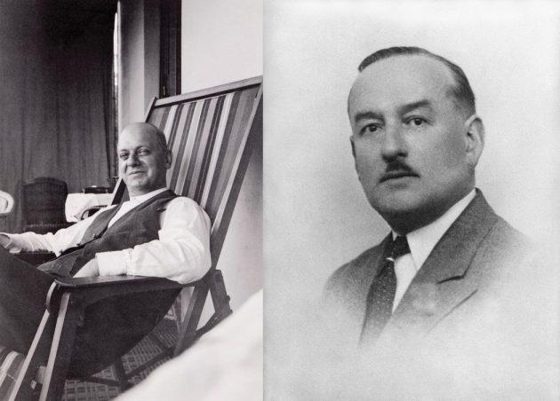 William Baume i Paul Mercier