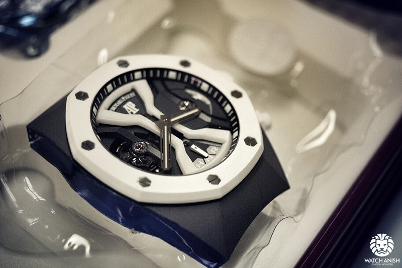 Royal Oak Concept GMT Tourbillon