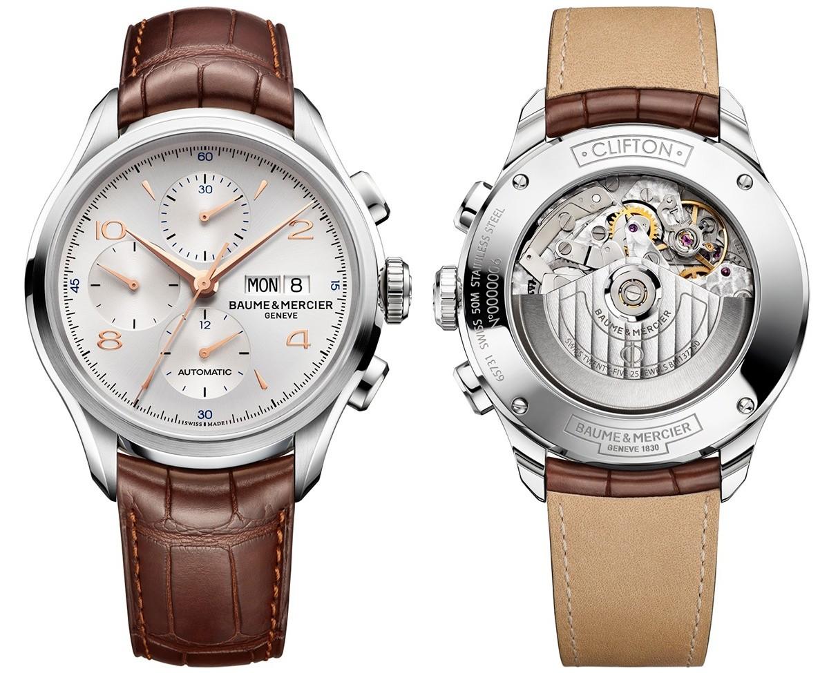 Baume&Mercier Clifton Chronograph 10129