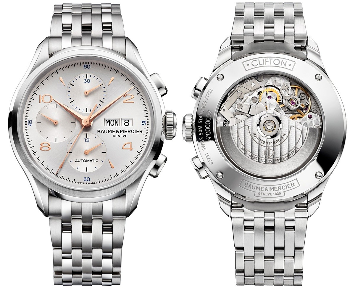Baume&Mercier Clifton Chronograph 10130