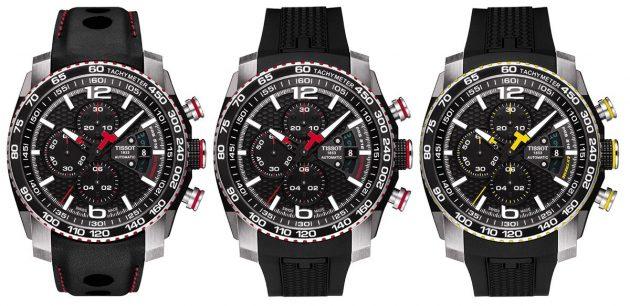 Różne wersje zegarka PRS 516