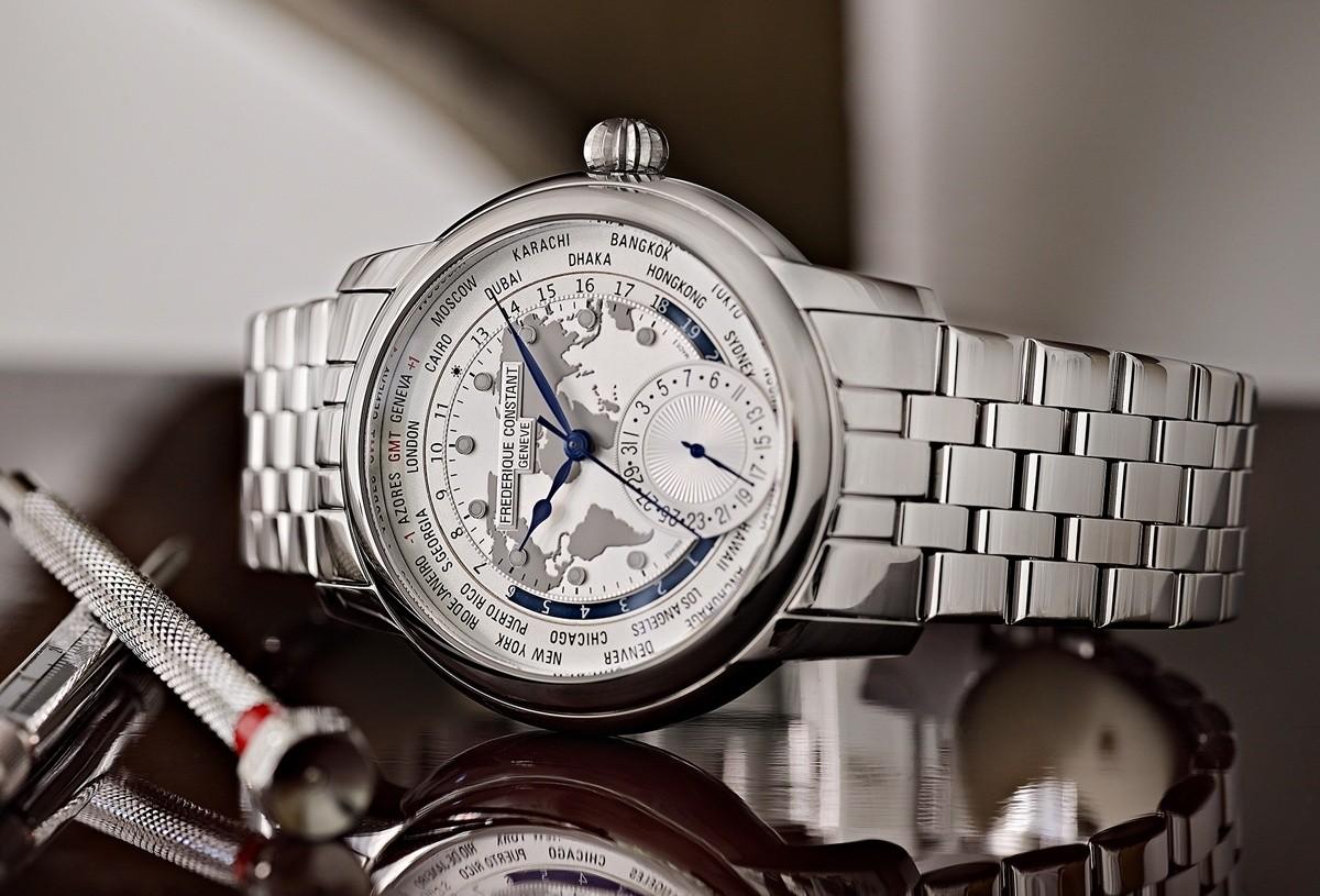 Frederique Constant Classic Manufacture WorldTime Bracelet