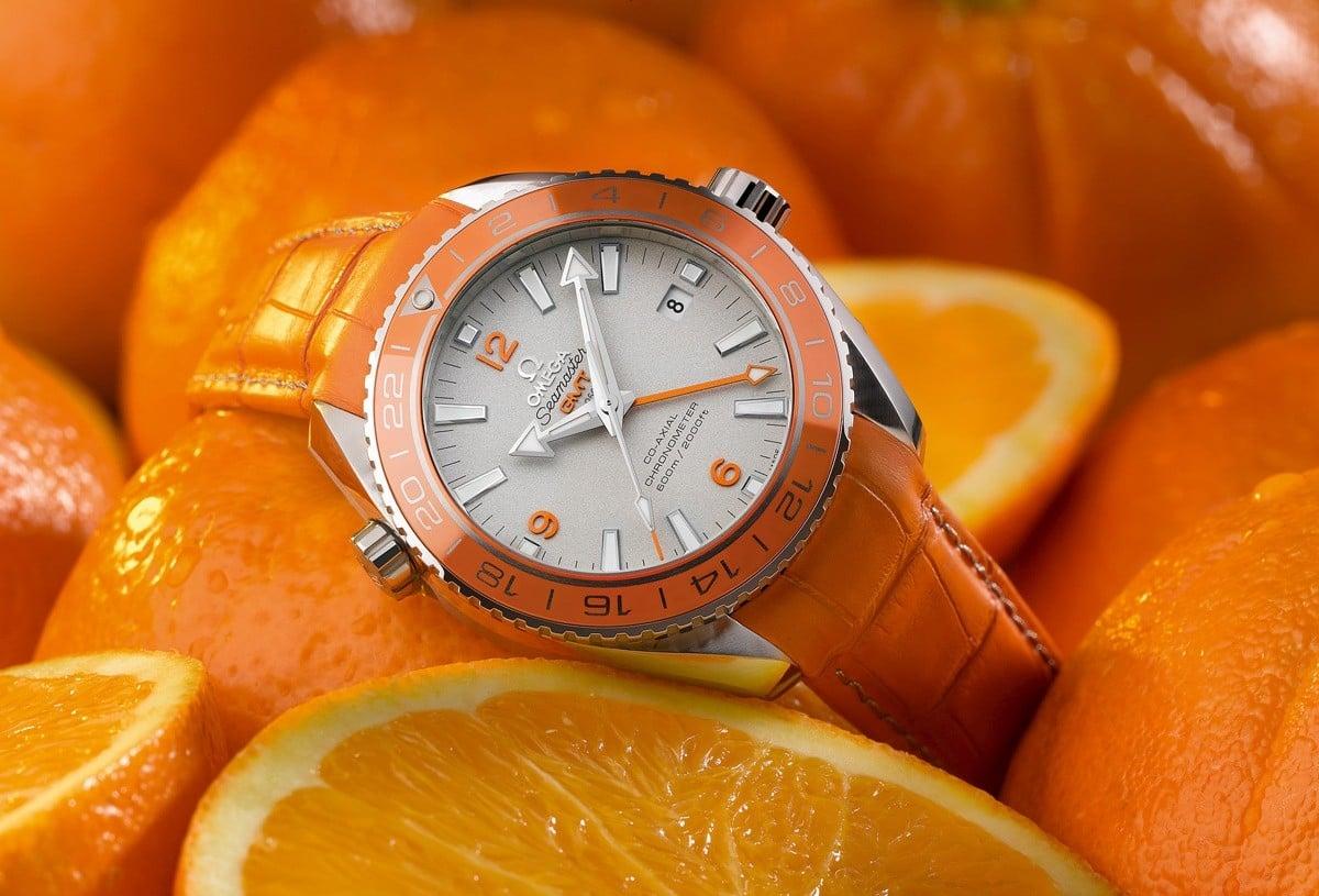 OMEGA Seamaster PO Orange Ceramic