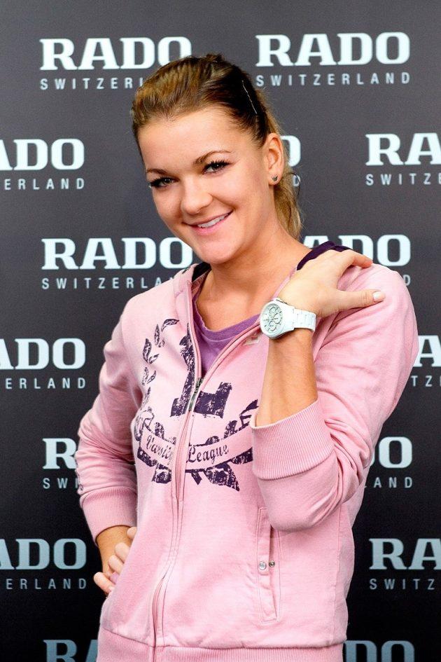 Agnieszka Radwańska ambasadorem Rado