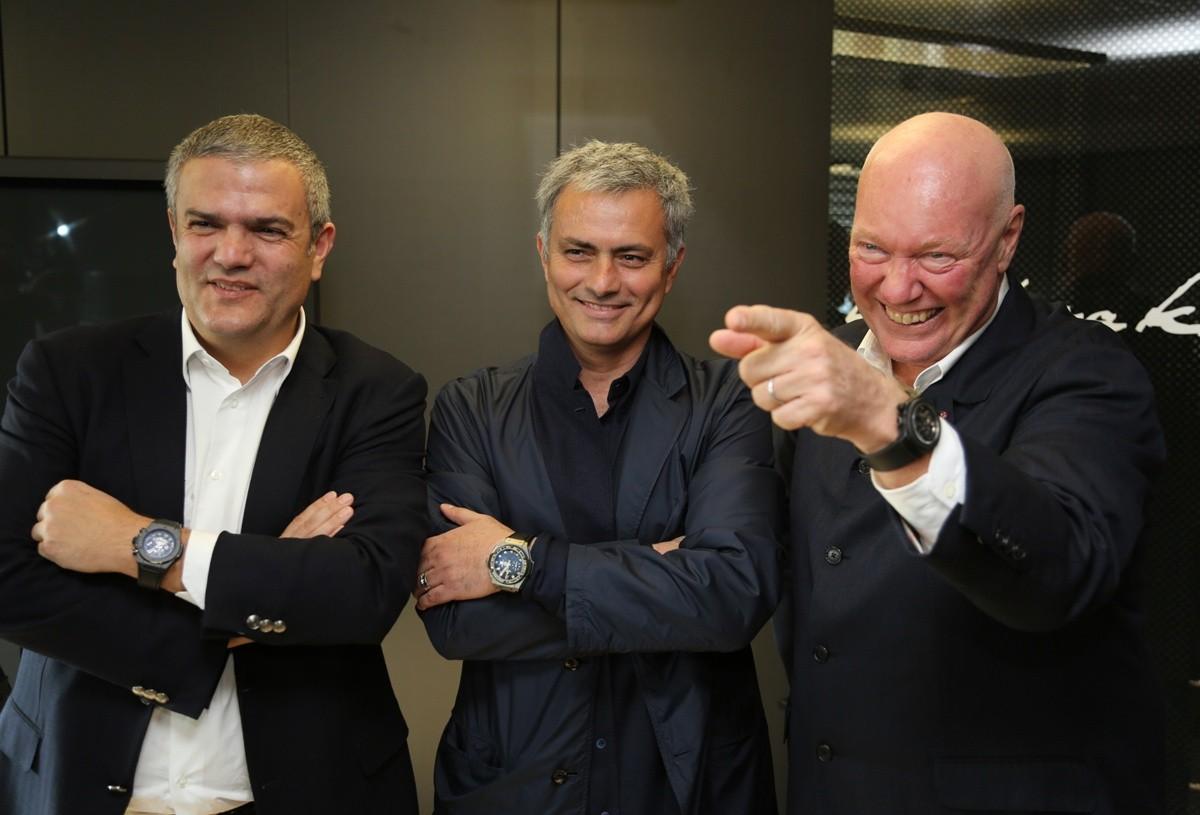 Jose Mourinho ambasadorem Hublot