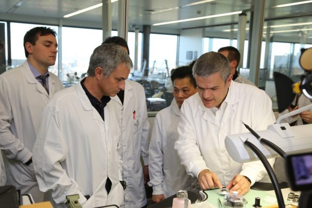 od lewej: Jose Mourinho i Ricardo Guadalupe