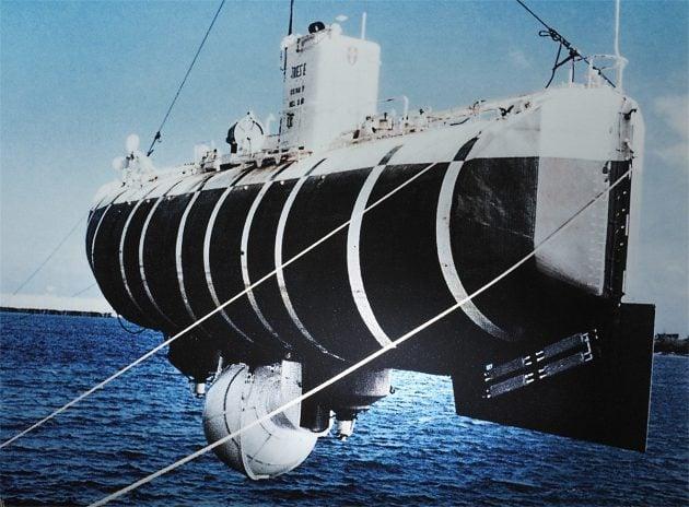 Batyskaf Trieste, rok 1960